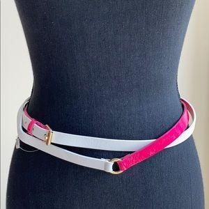 Maison Boinet double wrap waist belt